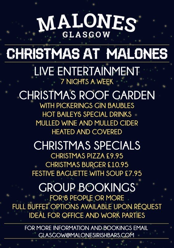 Christmas party Malones 2019